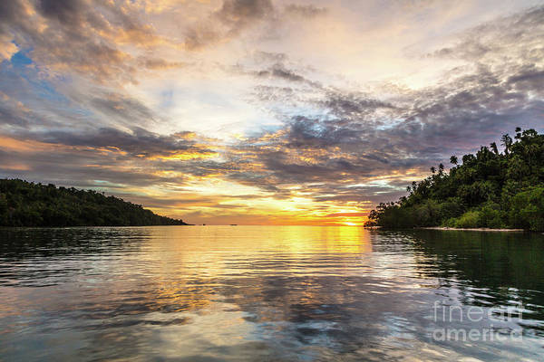 Photograph - Stunning Sunset In The Togian Islands In Sulawesi by Didier Marti