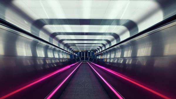 Artwork Digital Art - Subway by Maye Loeser