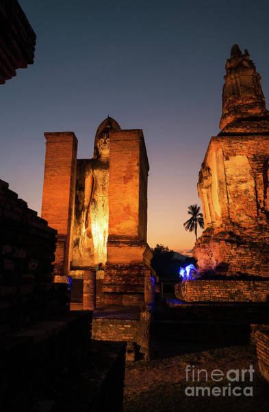 Wall Art - Photograph - Sukhothai, Thailand by Atiketta Sangasaeng