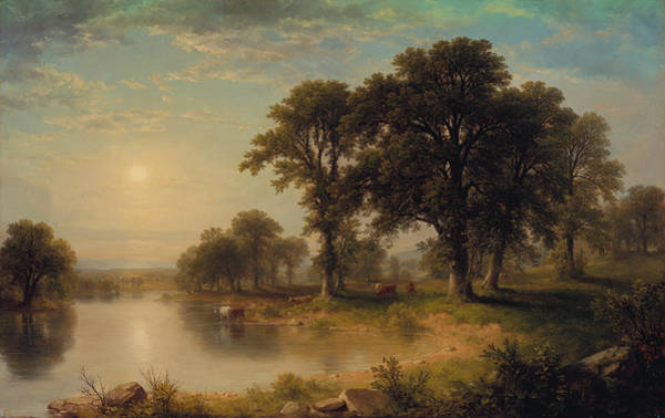 Painting - Summer Afternoon by Asher Brown Durand