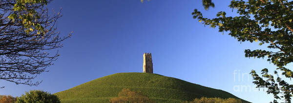 Wall Art - Photograph - Summer Glastonbury Tor St Michaels Tower Somerset Levels by Dave Porter