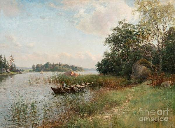 Archipelago Painting - Summer View by Celestial Images