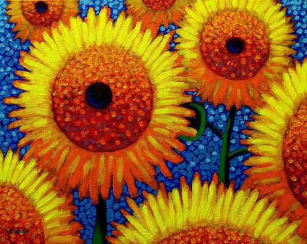 Edition Painting - Sun Lovers by John  Nolan