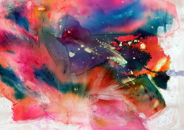 Emanate Painting - Sunburst by Don  Wright