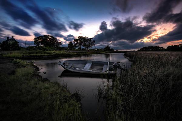 Bishop Photograph - Sundown At Bishops Head by Robert Fawcett