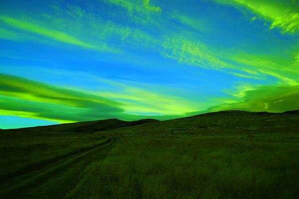 Wall Art - Photograph - Sundown In The Wenas by Jeff Swan
