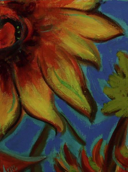 Wall Art - Painting - Sunflower by Ann Lutz