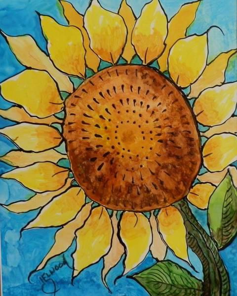 Elwood Blues Painting - Sunny by Jann Elwood