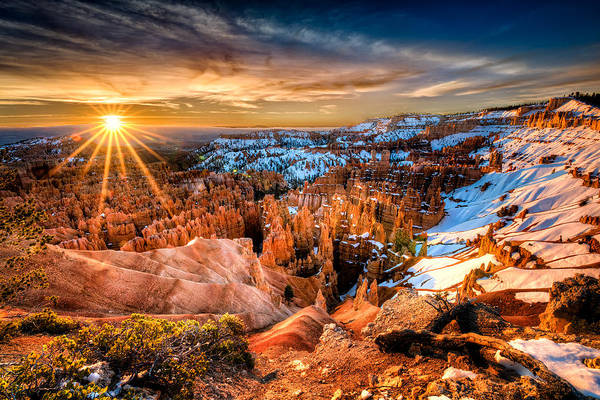 Photograph - Sunrise At Bryce by Michael Ash