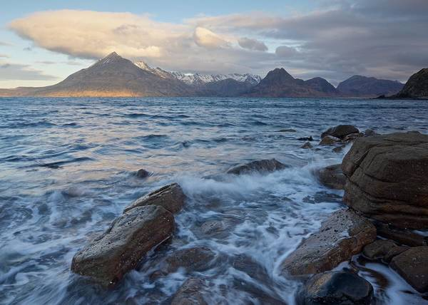 Photograph - Sunrise At Elgol by Stephen Taylor