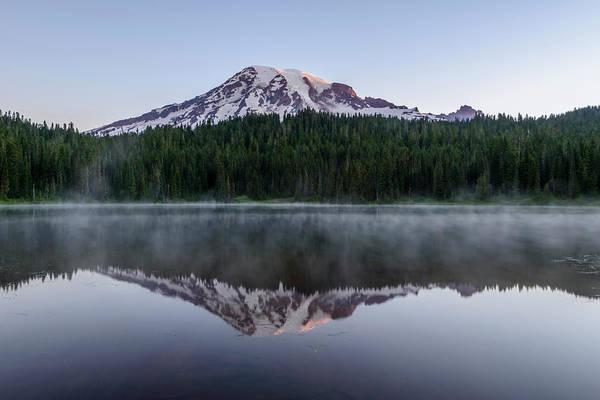 The Reflection Lake Art Print