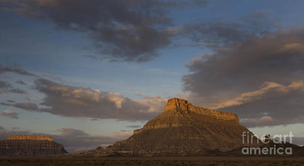 Photograph - Sunrise Over Factory Butte by Keith Kapple