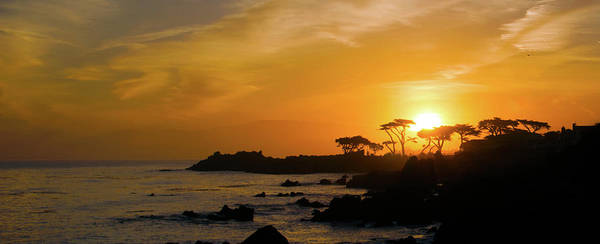 Wall Art - Photograph - Sunrise Over Monterey California  by Barbara Snyder