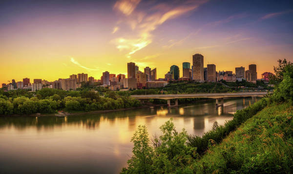 Edmonton Skyline Art Page 4 Of 4 Fine Art America