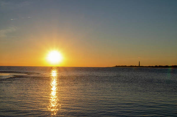 Photograph - Sunset At Cape May Cove by Bill Cannon