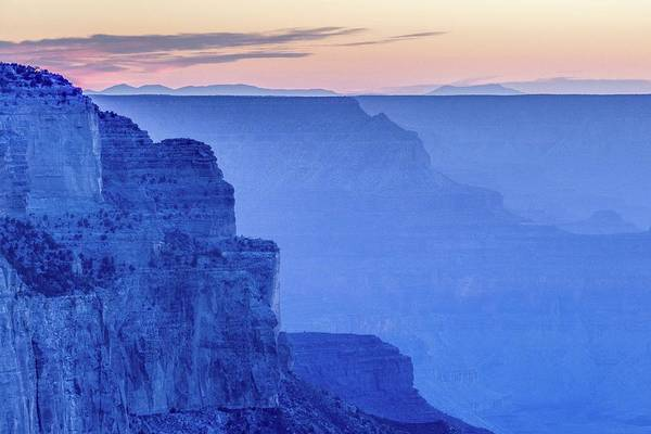 Photograph - Sunset At South Rim by Pete Hendley