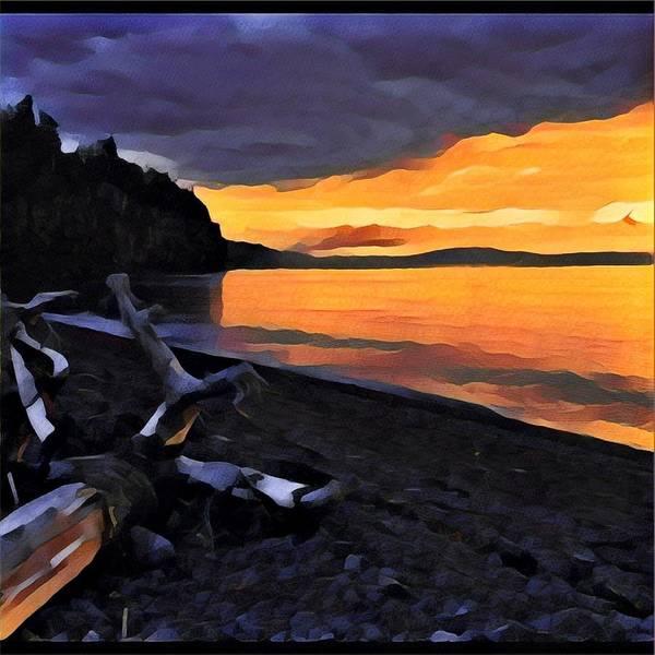 Photograph - Sunset by David Matthews