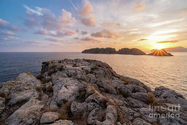Photograph - Sunset Malgrats Islands by Hans- Juergen Leschmann