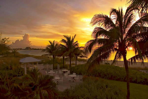 Wall Art - Photograph - Sunset On Grace Bay by Stephen Anderson