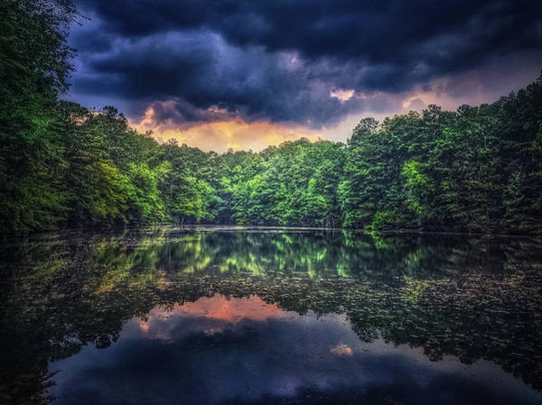 Photograph - Sunset On The Lake by Mike Dunn