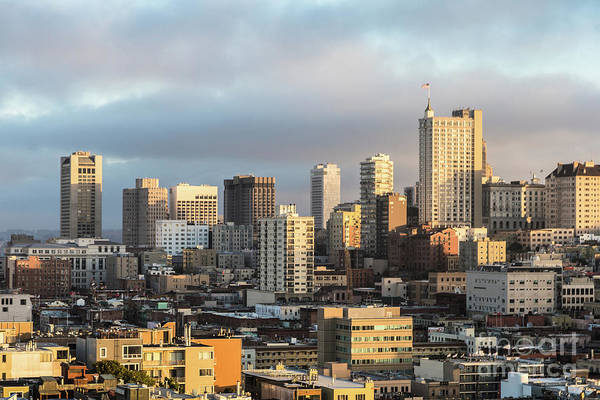 Photograph - Sunset Over San Francisco Hills.  by Didier Marti