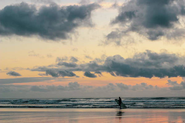 Photograph - Sunset Surfing by Lost River Photography