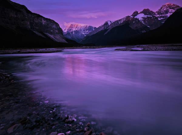 Photograph - Sunwapta River by Dan Jurak