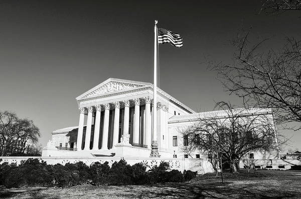 Photograph - Supreme Court Of The United States In The Winter by Brandon Bourdages