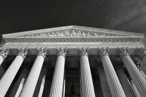 Photograph - Supreme Court Of The Usa by Brandon Bourdages