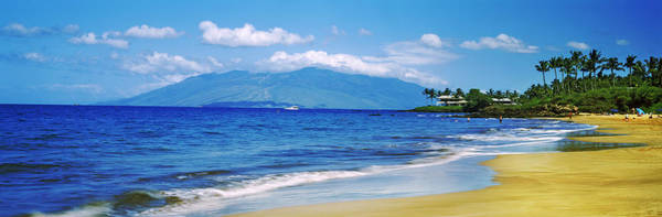 Kapalua Photograph - Surf On The Beach, Kapalua Beach, Maui by Panoramic Images