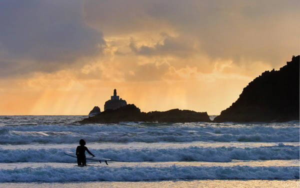Surf Photograph - Surfs Up by Mike  Dawson