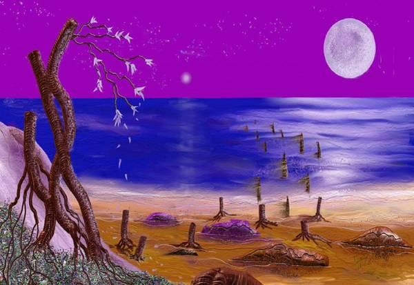 Digital Art - Surreal Seascape by Tony Rodriguez