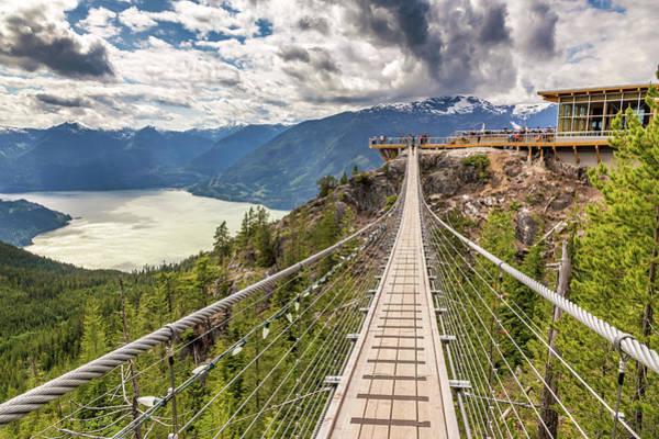 Photograph - Suspension Bridge by Pierre Leclerc Photography
