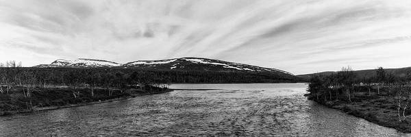 Photograph - Swedish Mountains - Panoramic View by Stefan Mazzola