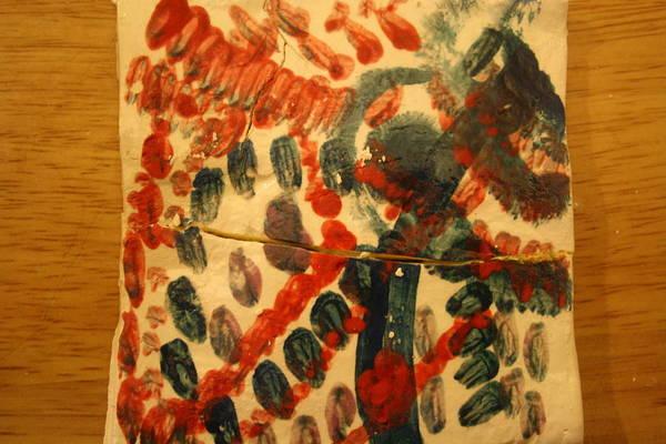 Ceramic Art - Sweet - Tile by Gloria Ssali