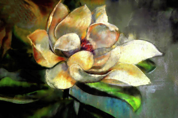 Mixed Media - Sweet Magnolia Of Alabama by Lesa Fine