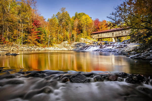 Photograph - Swiftwater Bridge by Robert Clifford