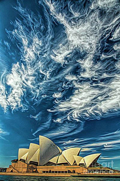 Wall Art - Photograph - Sydney Opera House by Sheila Smart Fine Art Photography