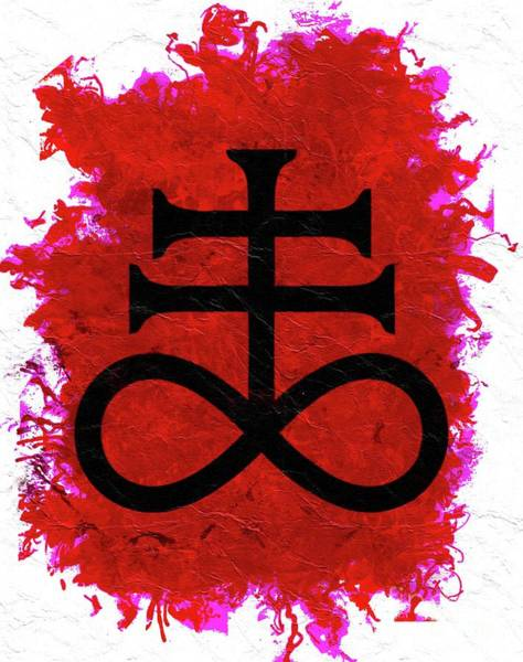 Masonic Wall Art - Painting - Symbols Of The Occult by Pierre Blanchard