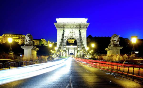 Photograph - Szechenyi Chain Bridge by Fabrizio Troiani