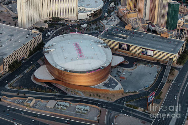 Wall Art - Photograph - T-mobile Arena, Las Vegas by PhotoStock-Israel