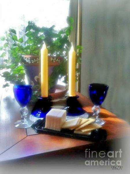 Photograph - Table For Two by Barbara S Nickerson