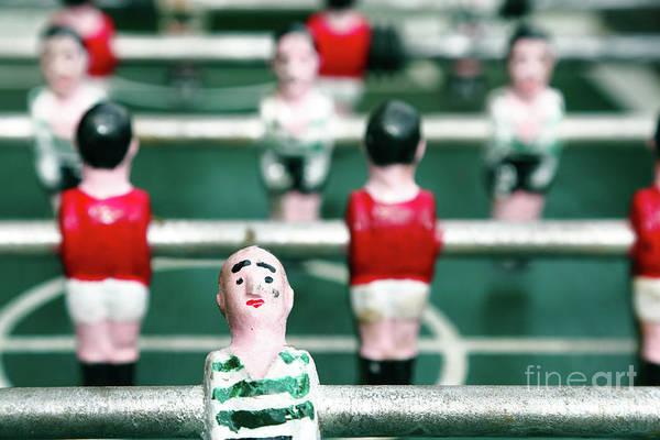 Benfica Photograph - Table Soccer by Gaspar Avila