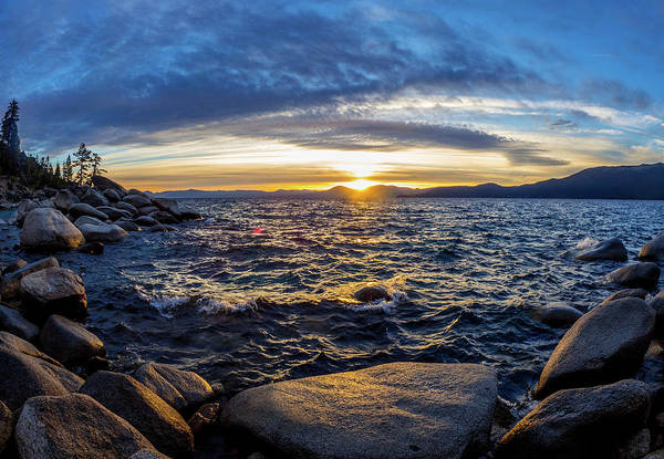 Photograph - Tahoe Sunset by Martin Gollery