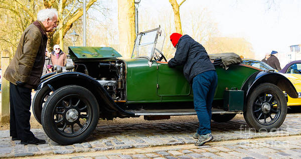 Photograph - Talbot Car by Colin Rayner