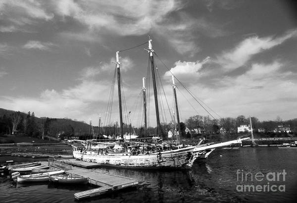 Sailing Terms Photograph - Tall Ship Grace Bailey by Skip Willits