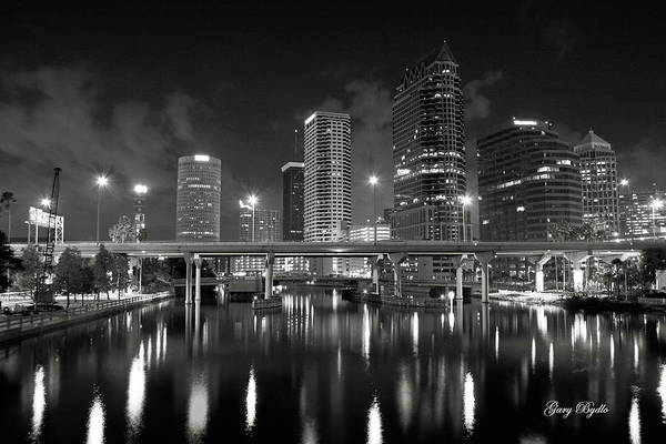 Tampa Photograph - Tampa Skyline by Gary Bydlo