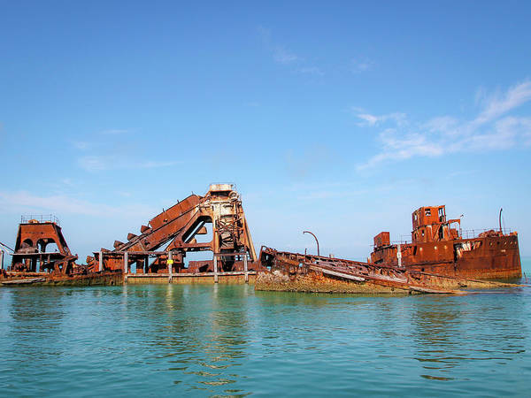 Photograph - Tangalooma Wrecks by Keiran Lusk