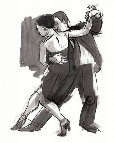 Painting - Tango 9 by Judith Kunzle