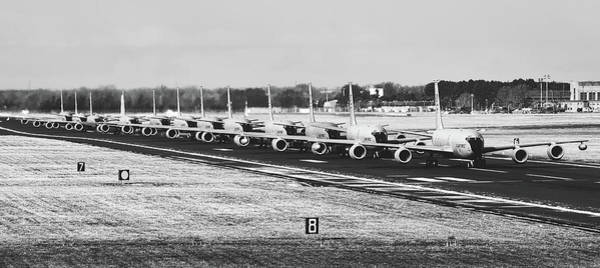 Wall Art - Photograph - Tankers In Line by U S A F